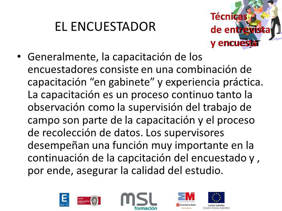 EL ENCUESTADOR