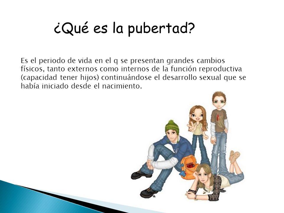 ¿Qué es la pubertad