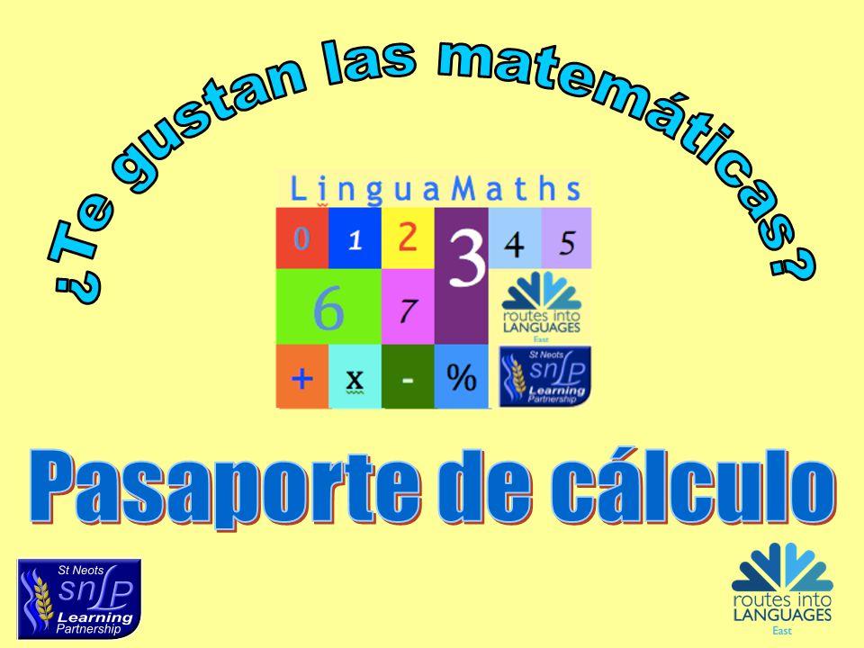 ¿Te gustan las matemáticas