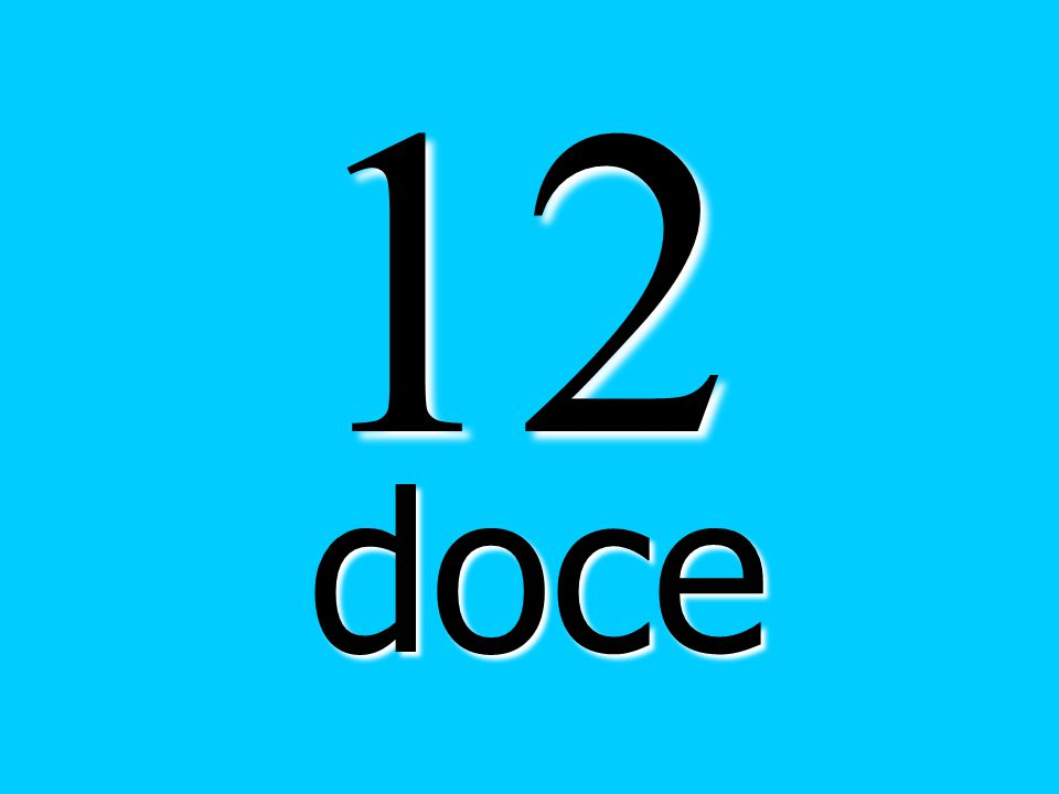 12 doce