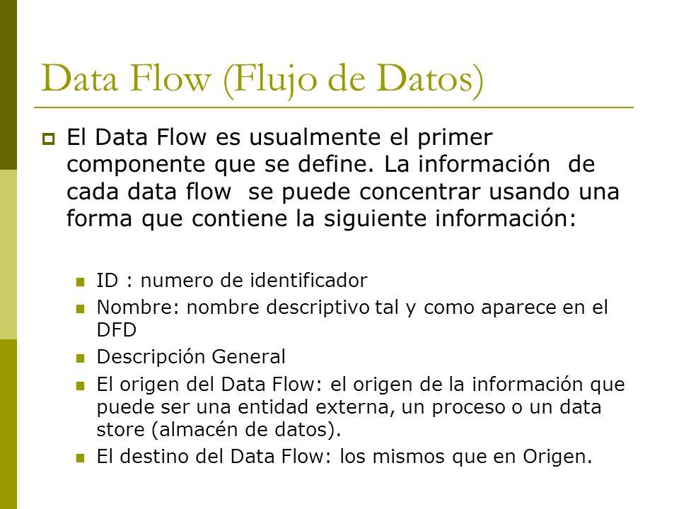 Data Flow (Flujo de Datos)
