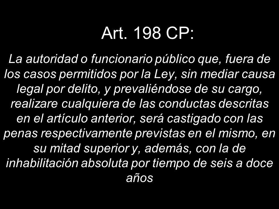 Art. 198 CP: