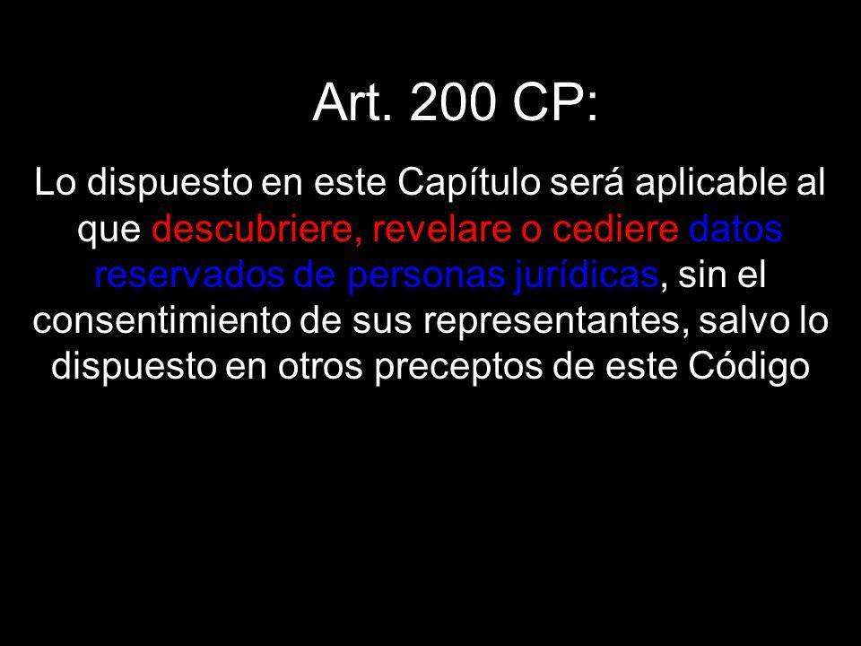 Art. 200 CP:
