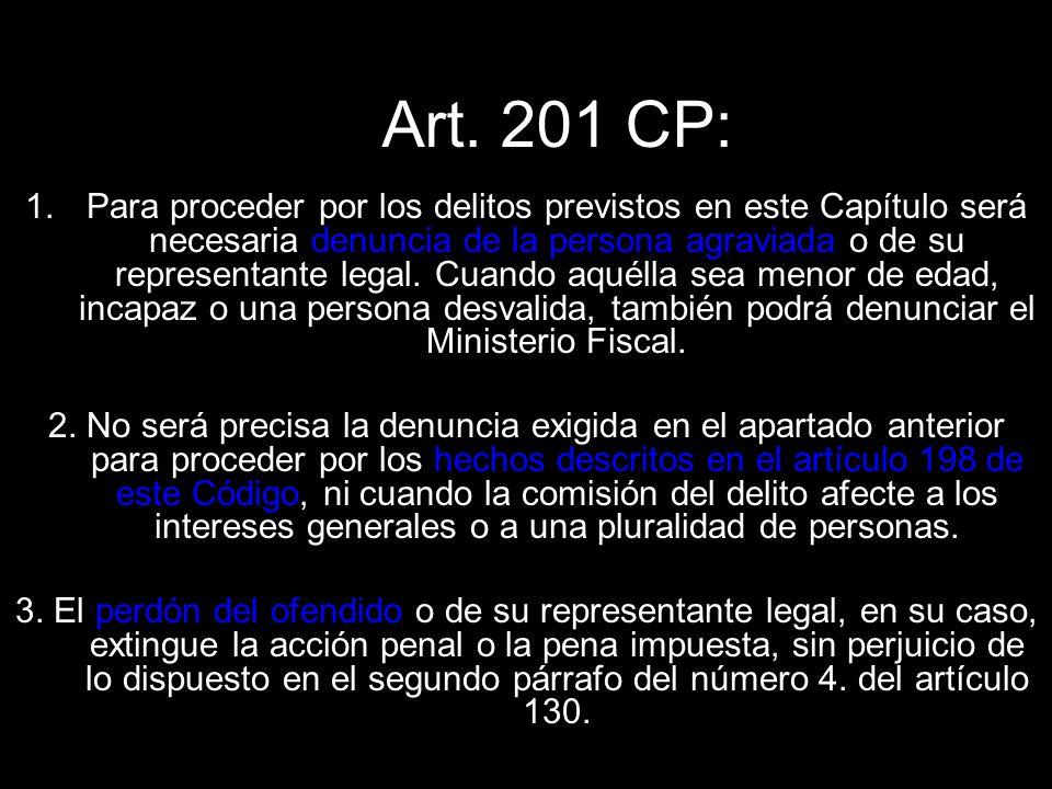 Art. 201 CP:
