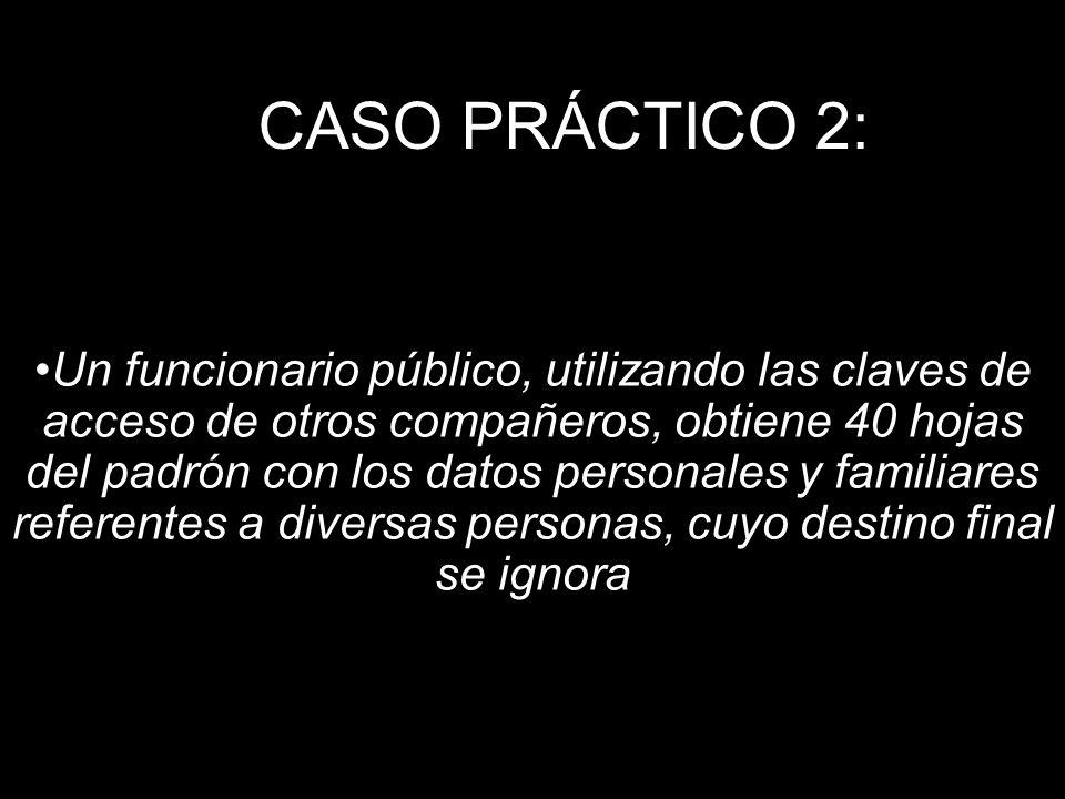 CASO PRÁCTICO 2:
