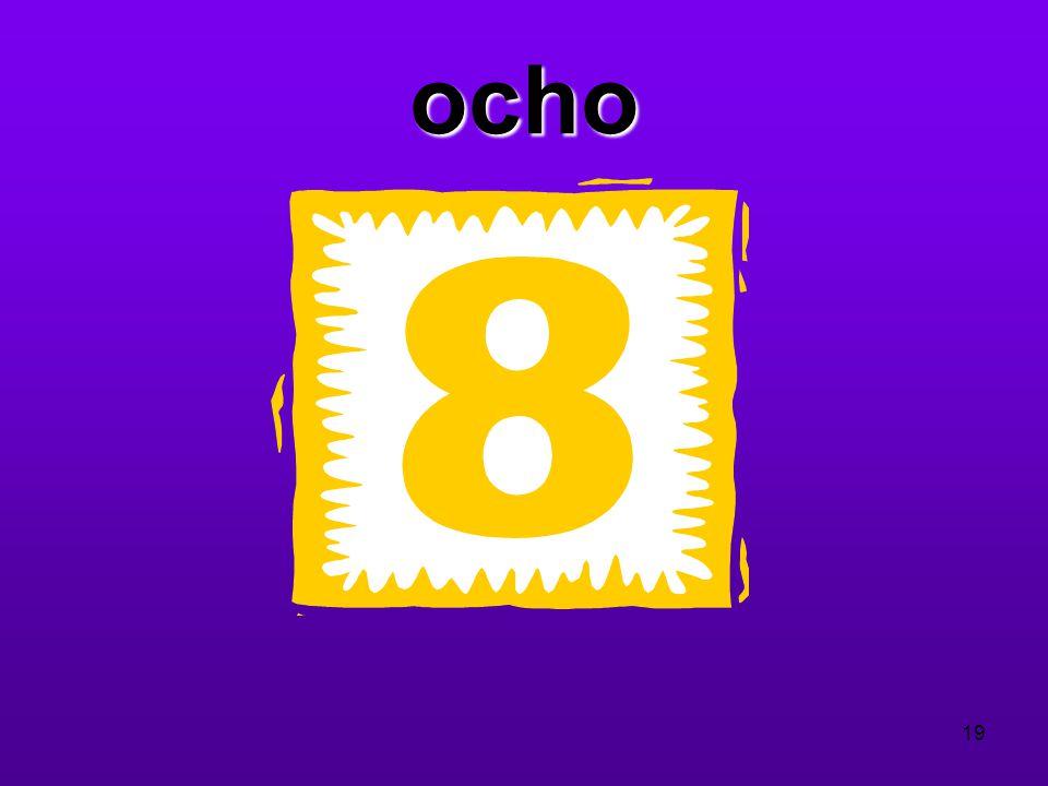 ocho 19