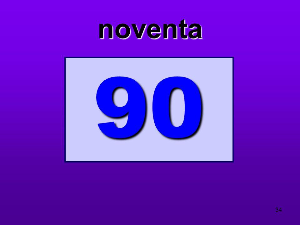 noventa 90 34