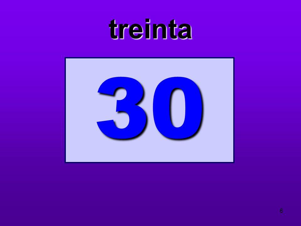 treinta 30 6
