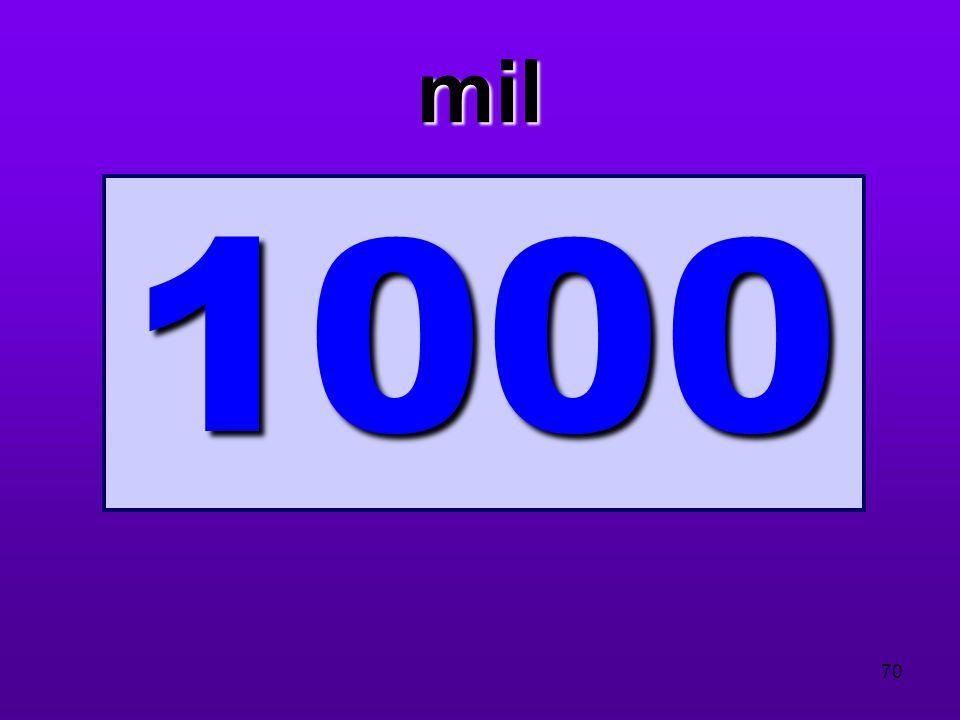 mil 1000