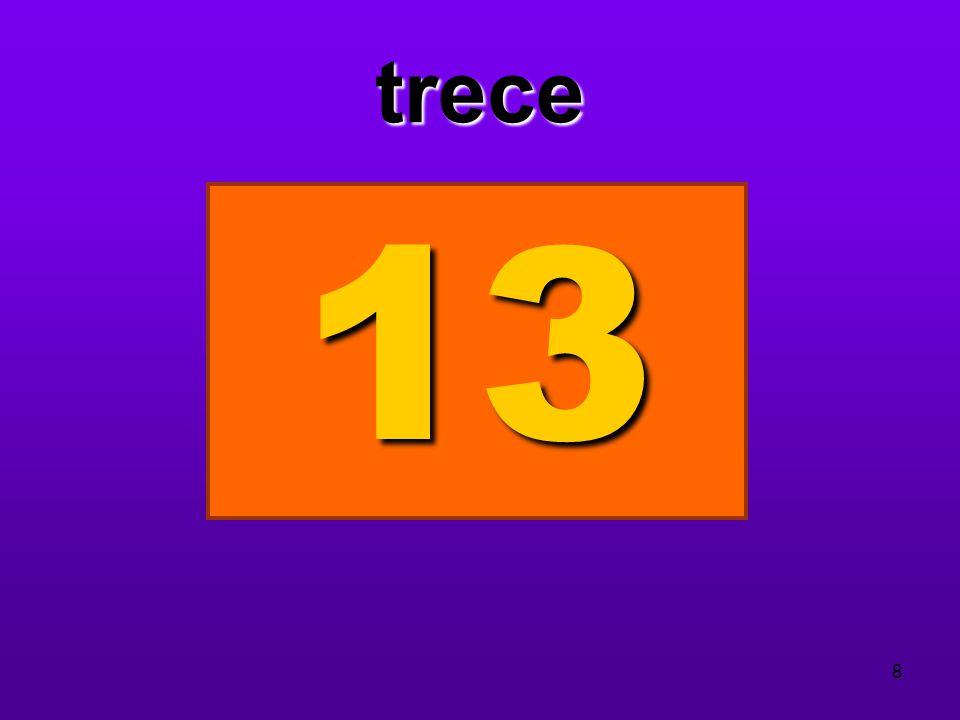 trece 13 8