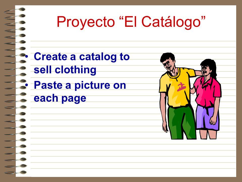 Proyecto El Catálogo