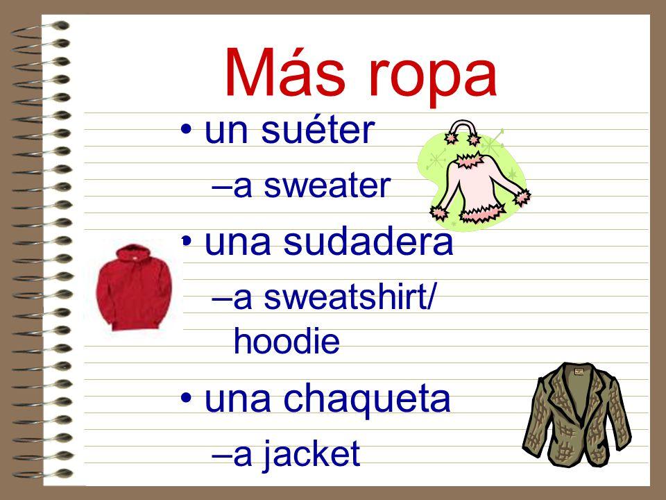 Más ropa un suéter una sudadera una chaqueta a sweater