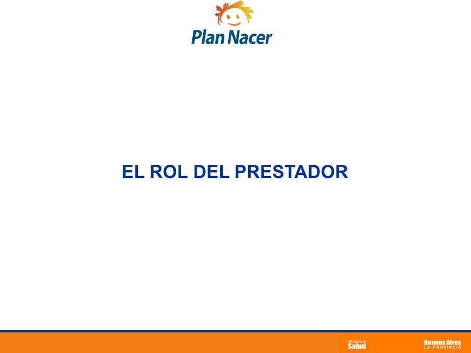 EL ROL DEL PRESTADOR