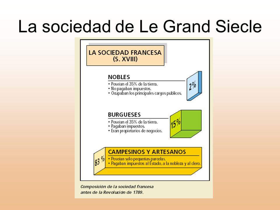 La sociedad de Le Grand Siecle