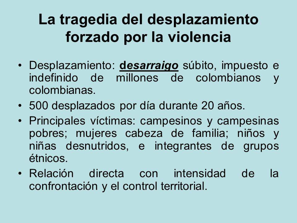 La tragedia del desplazamiento forzado por la violencia