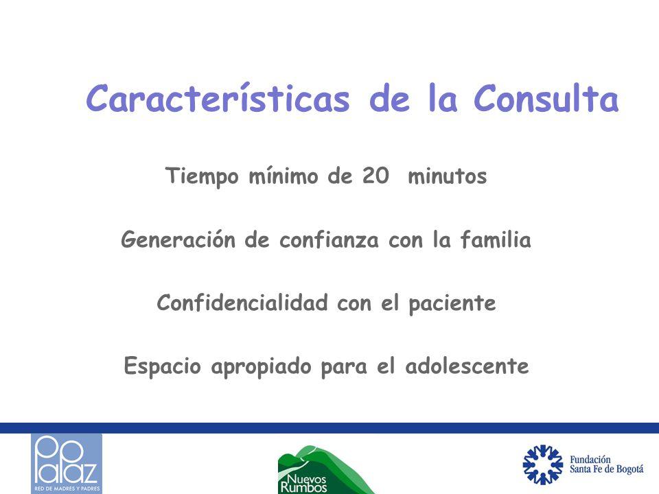 Características de la Consulta