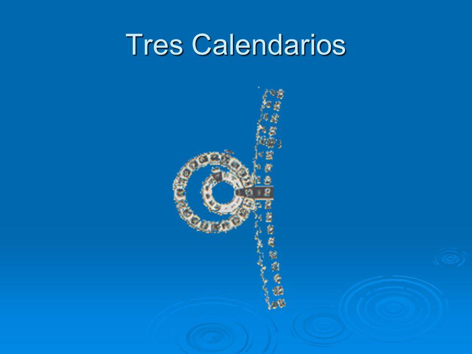 Tres Calendarios
