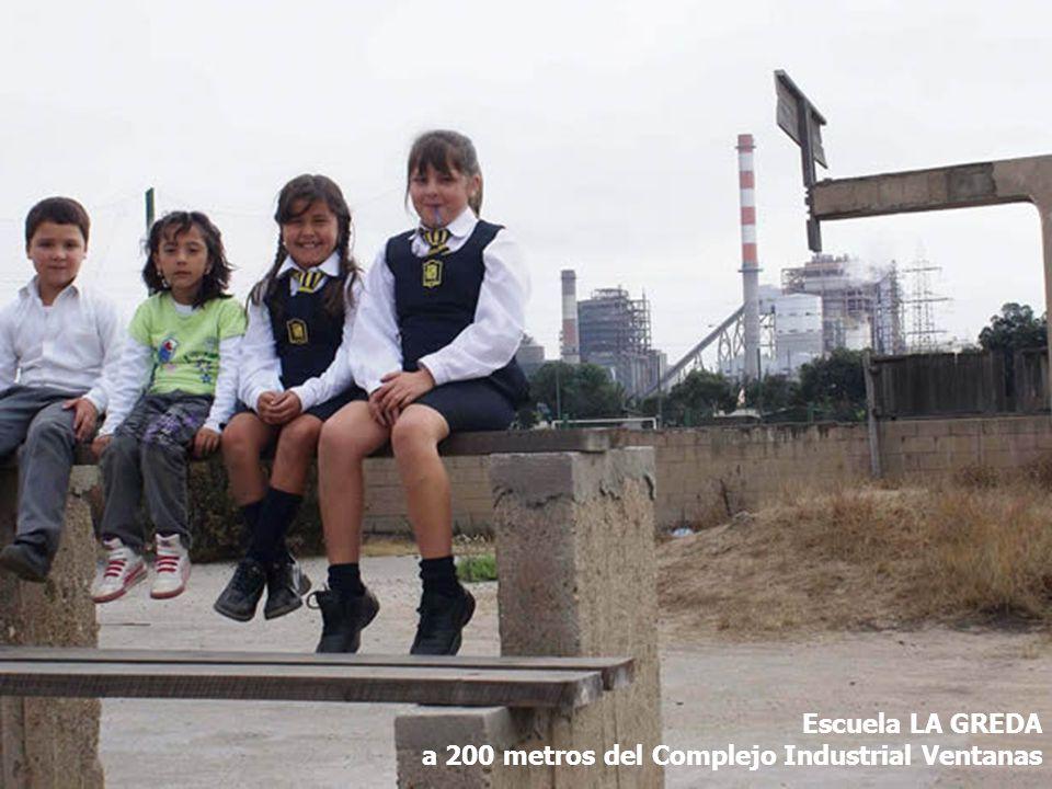 Escuela LA GREDA a 200 metros del Complejo Industrial Ventanas