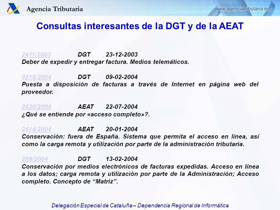 Consultas interesantes de la DGT y de la AEAT