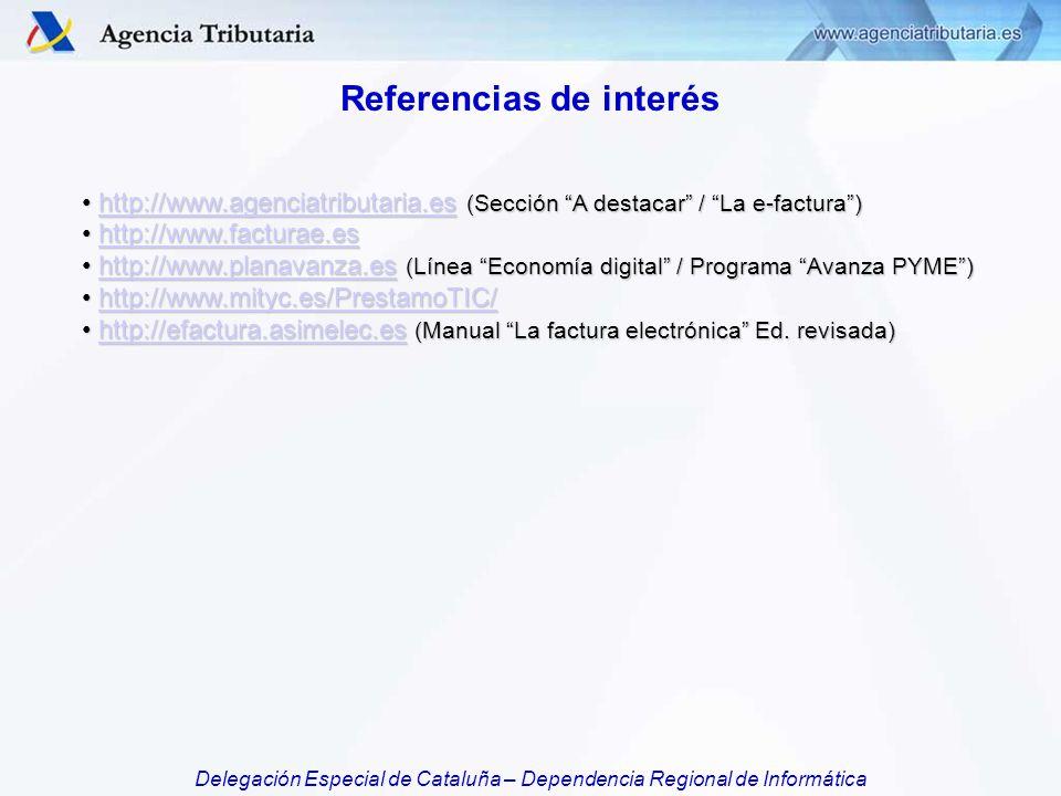Referencias de interés