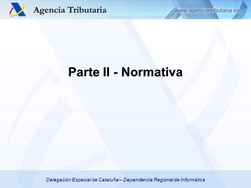 Delegación Especial de Cataluña – Dependencia Regional de Informática