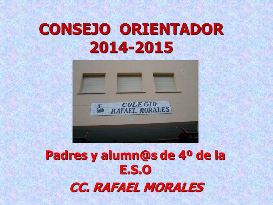 Padres y alumn@s de 4º de la E.S.O CC. RAFAEL MORALES