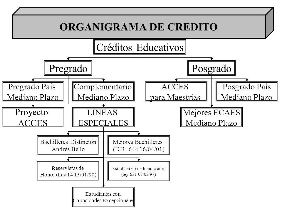 ORGANIGRAMA DE CREDITO