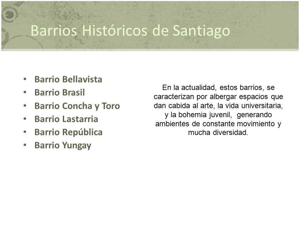 Barrios Históricos de Santiago