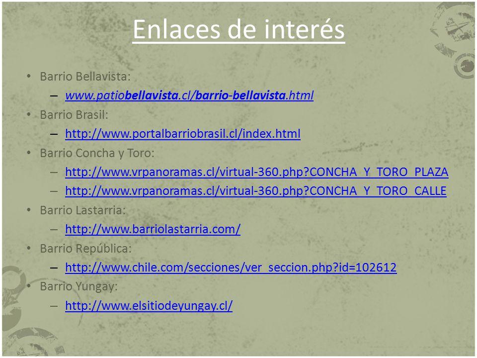 Enlaces de interés Barrio Bellavista:
