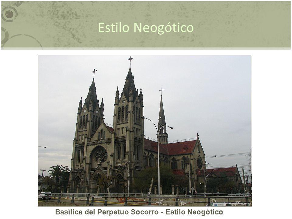 Basílica del Perpetuo Socorro - Estilo Neogótico