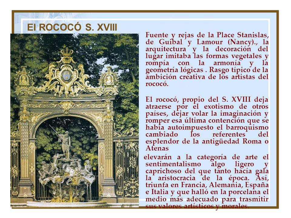 El ROCOCÓ S. XVIII