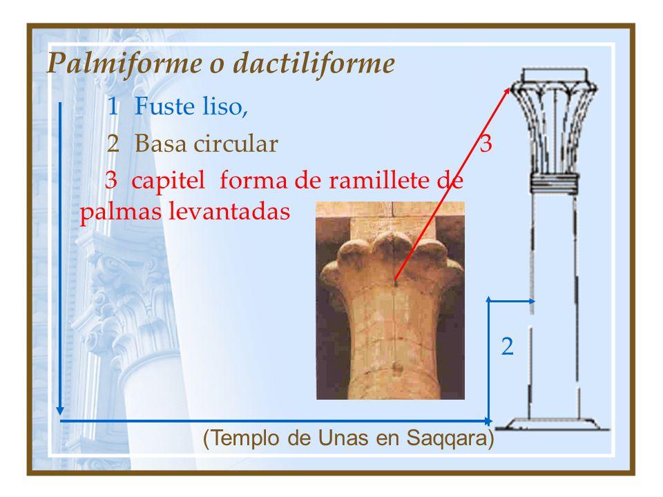 Palmiforme o dactiliforme