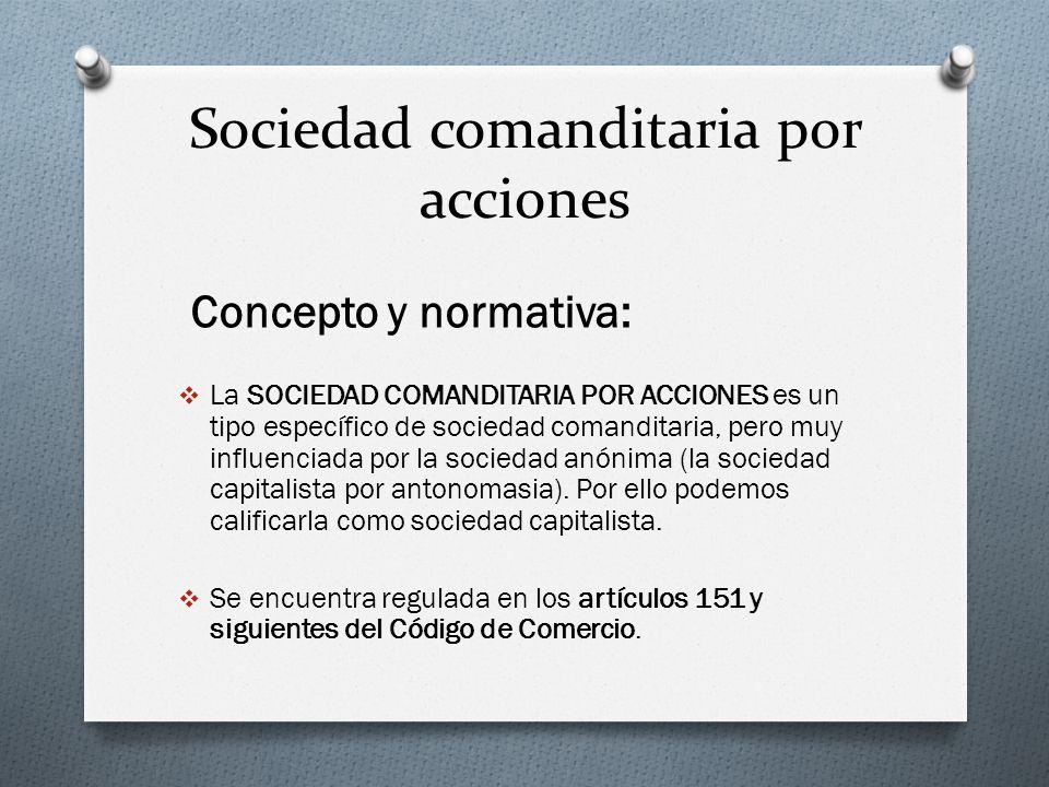 Sociedad comanditaria por acciones