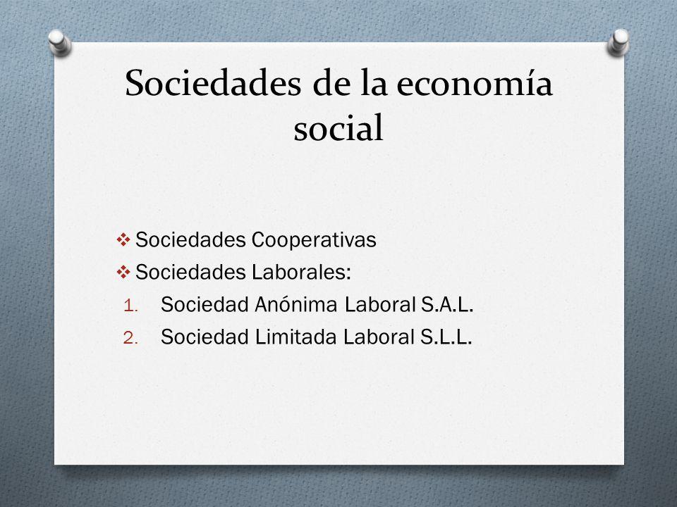 Sociedades de la economía social