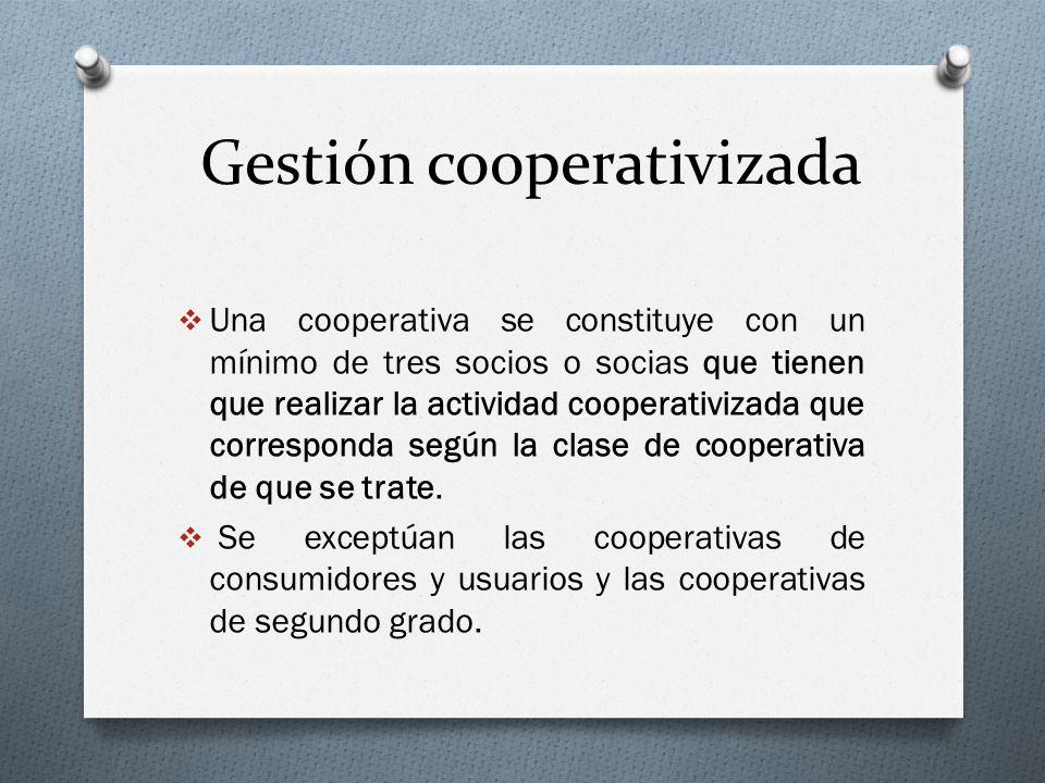 Gestión cooperativizada