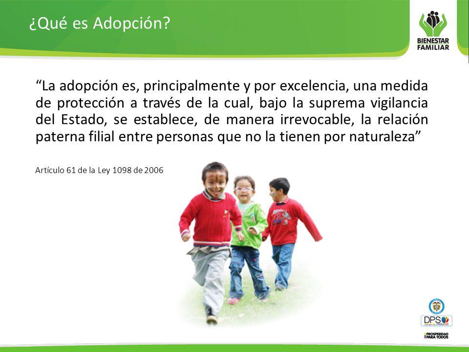 ¿Qué es Adopción