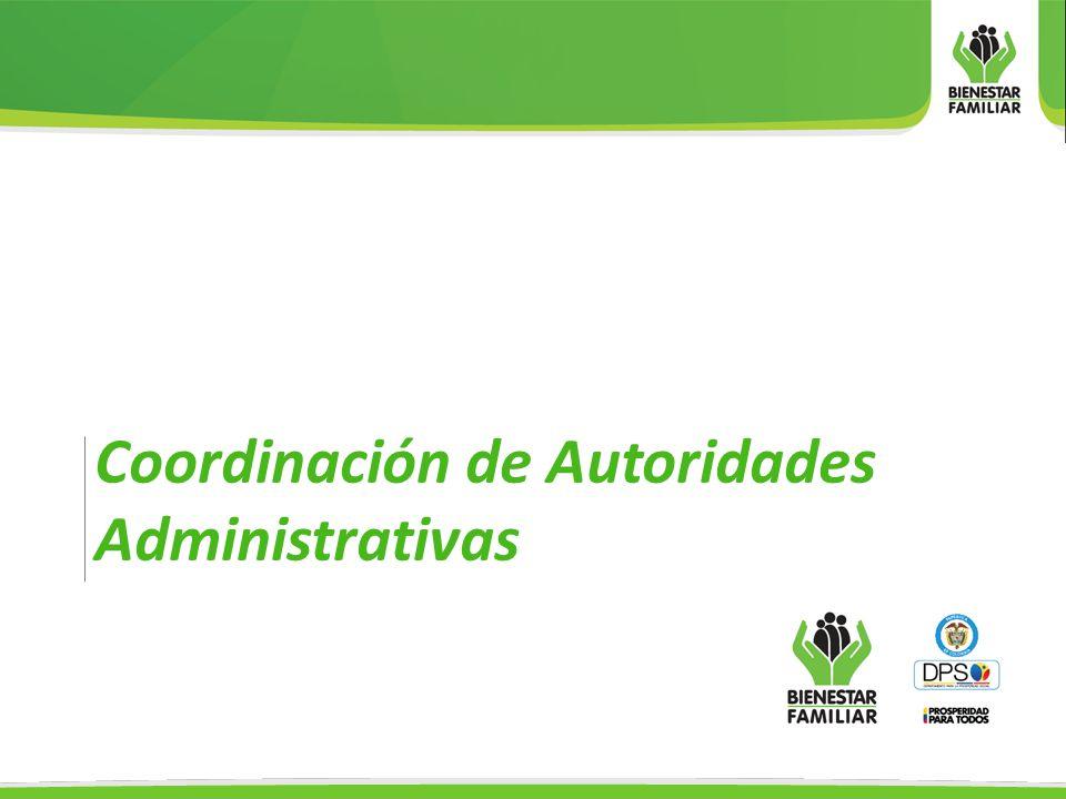Coordinación de Autoridades Administrativas