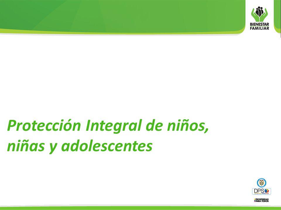 Protección Integral de niños, niñas y adolescentes