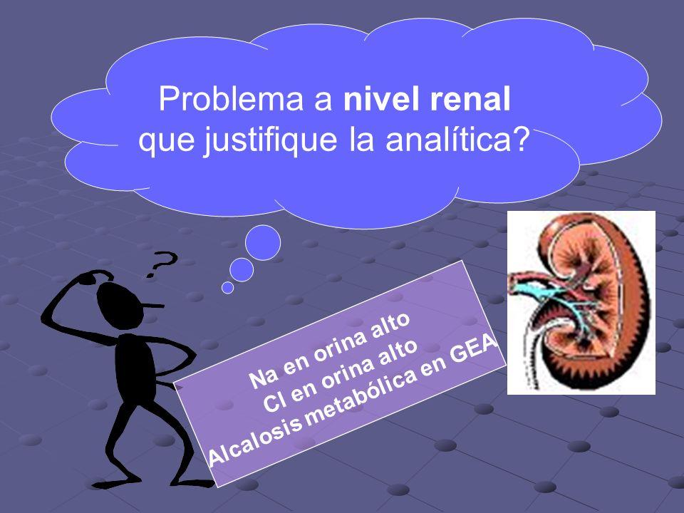 Alcalosis metabólica en GEA
