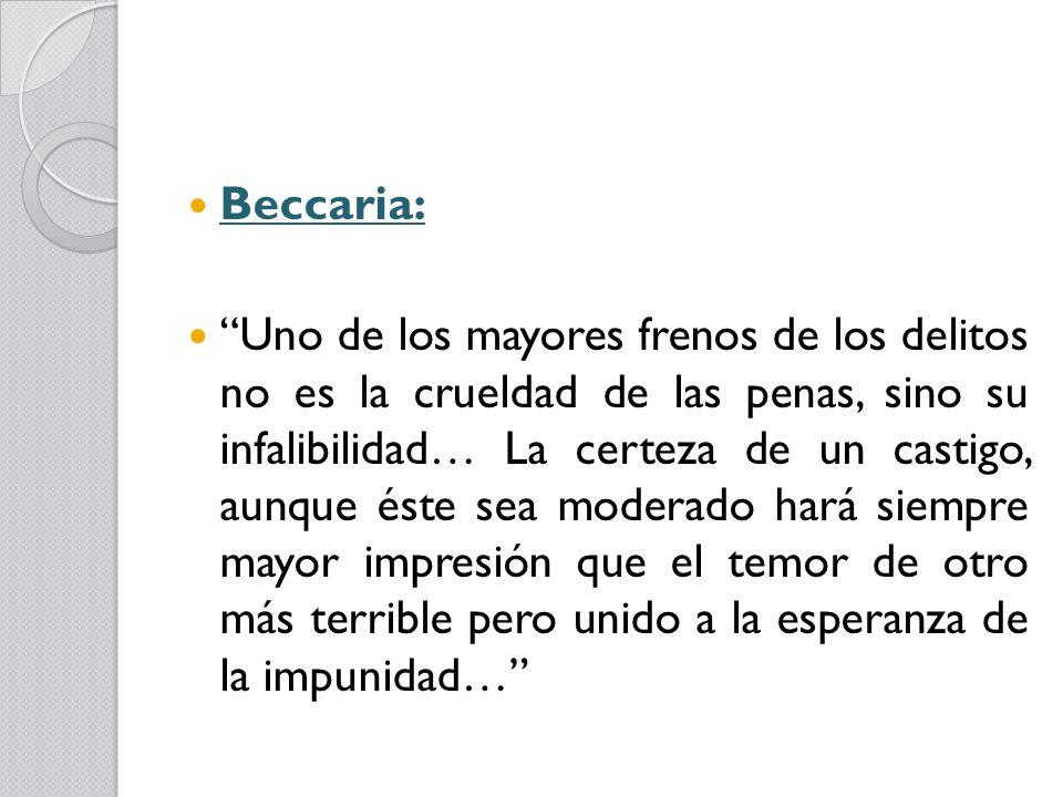 Beccaria:
