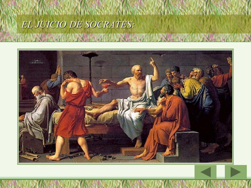 EL JUICIO DE SOCRATES: