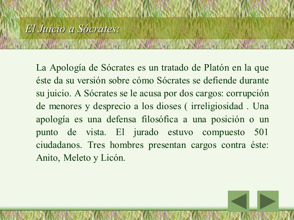 El Juicio a Sócrates: