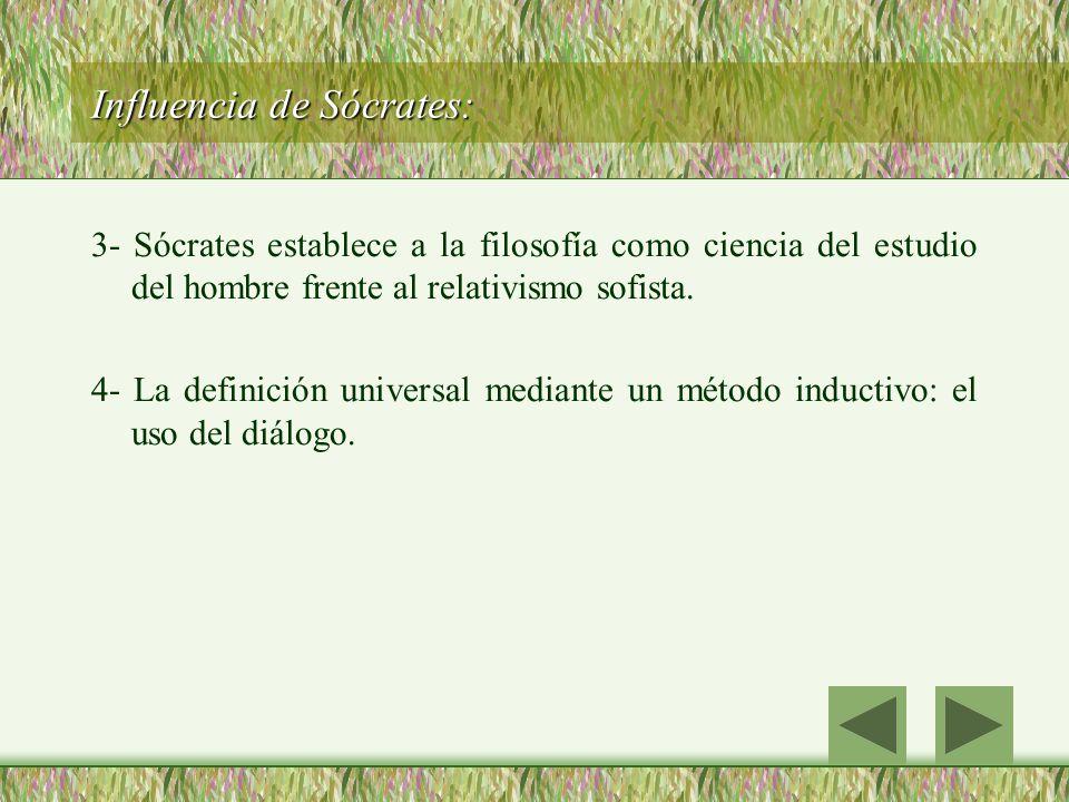 Influencia de Sócrates: