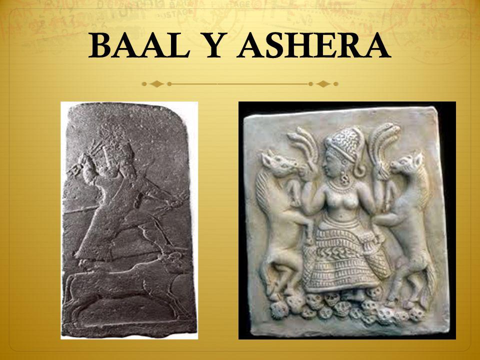 BAAL Y ASHERA