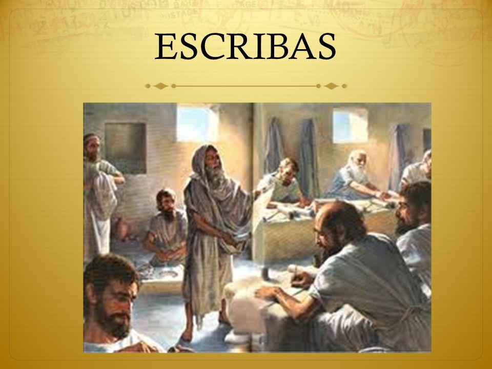ESCRIBAS