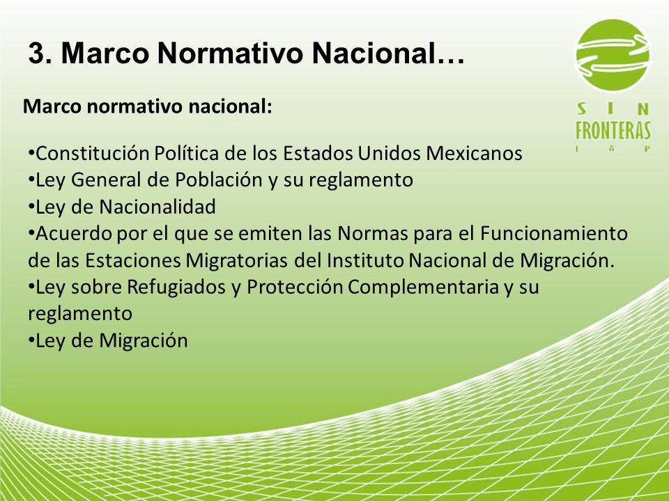 3. Marco Normativo Nacional…