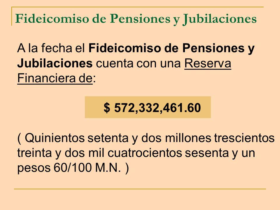 Fideicomiso de Pensiones y Jubilaciones