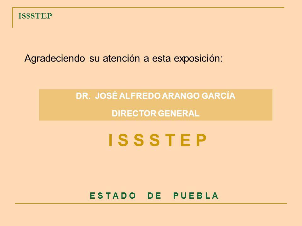 DR. JOSÉ ALFREDO ARANGO GARCÍA