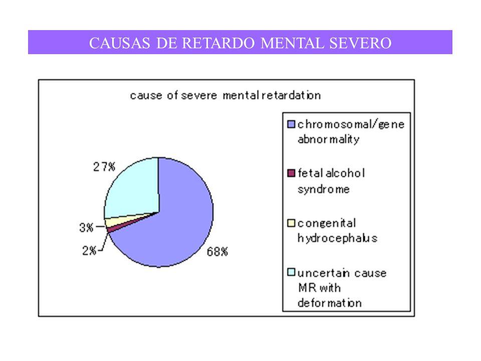 CAUSAS DE RETARDO MENTAL SEVERO