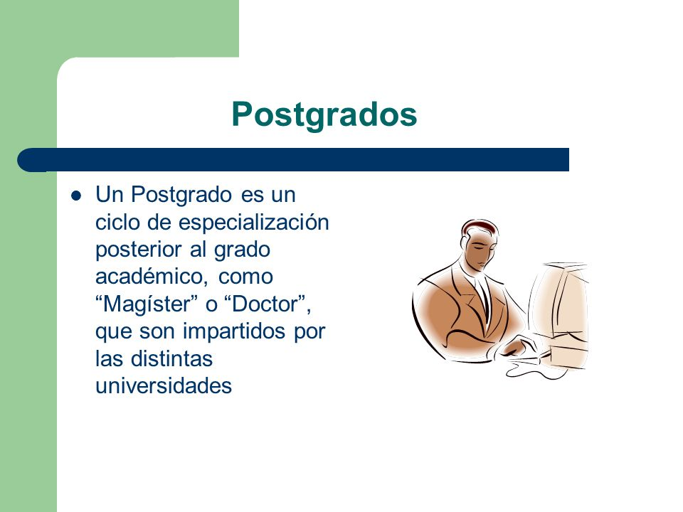 Postgrados